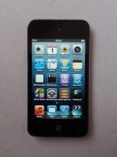 Apple iPod touch 4. Generation Schwarz (32GB), stark gebraucht, Klinke defekt