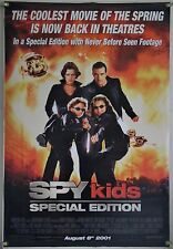 SPY KIDS SPECIAL EDITION DS ROLLED ORIG 1SH MOVIE POSTER ROBERT RODRIGUEZ (2001)