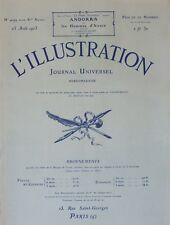 L' ILLUSTRATION No 4199 . 25 aout 1923 . Les monuments seldjoukides de Konia .