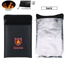 Double Sided Fireproof Bag Fire Wateproof Pouch for LiPo Battery Money Document