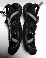 J-41 Men's Size 9 Trail Groove 2 Water Hiking Shoes Black Water Ready #358