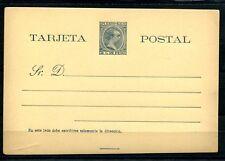1894.PUERTO RICO.ENTERO POSTAL.EDIFIL 5(*).NUEVO SIN FIJASELLOS.CAT.27€