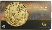 2019 P Enhanced Sacagawea $1 Coin & Currency Set - Native American Space Program