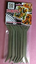 Garden Yard Plant Labels hold plants up and open for sun