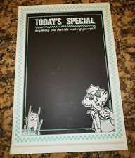 New ListingHallmark Maxine Today's Special Chalkboard - Teal - Leave A Message