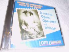 LOTTE LEHMANN - Stimmen des Jahrhunderts  - CD - OVP