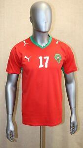 Maillot équipe Maroc Puma 2006 #17 CHAMAKH taille L