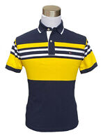 Tommy Hilfiger Men Short Sleeve Striped Classic Fit Pique Polo Shirt - $0 Ship