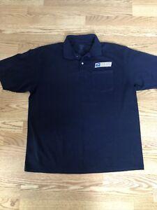 Postal Service Size XL Unisex Polo Shirt Navy Blue