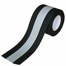 Sew On Silver Reflective Tape For Clothing Safety Fabric Webbing Trim Strip Arts