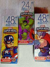 3 - Marvel Super Hero Adventures - 48 Pieces Jigsaw Puzzle