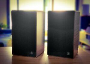 Grundig (Model BOX-650) 1977 German HIFI Bookshelf Stereo Speakers