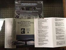 Leonard Nimoy narration Whales Alive rare cassette Paul Winter Paul Halley EX