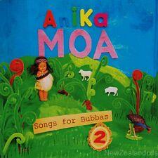 Anika Moa Songs for Bubbas 2 2016 Childrens cd New Zealand Maori language