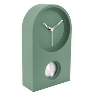 Karlsson Wanduhr/Tischuhr Taut grün – Zeitlose Uhr für ein modernes Zuhause ♡