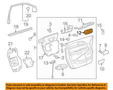 Buick GM OEM 10-17 Enclave Front Door-Window Switch 20958436