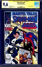 Marvel Tales #216 CGC SS 9.6 PUNISHER SPIDER-MAN signed by Mike Zeck NM+