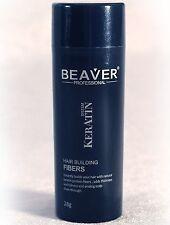 Beaver KERATIN Hair Building Fibres Hair Loss Concealer 28g Dark Brown Beaver F