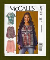 OOP McCALLS 2127 Creative Embellished Tops /& Camisoles PATTERN XS-S-M-L-XL UC