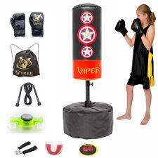 Children/'s Spiderman Avengers Boxing Bag Gloves Hanging Set Training Toy Gift UK