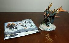 McFarlane's Dragons Water Clan Dragon Figure Series 4 with paper insert!! Used
