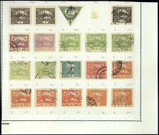 Czechoslovakia Album Page Of Stamps #V13652