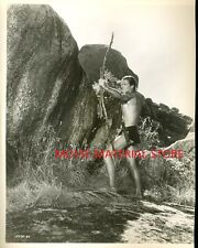 "Jock Mahoney Tarzan Goes To India Original 8x10"" Photo #M2528"