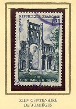 STAMP / TIMBRE FRANCE OBLITERE N° 985 ABBAYE DE JUMIEGES