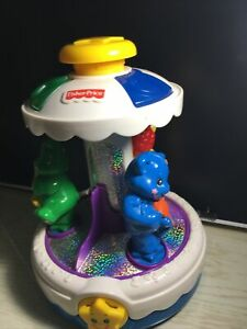 Fisher Price Sparkling Symphony Carousel Musical Toy Animals  Decor Only
