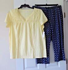 Croft and Barrow womens capri pajamas size XL