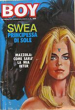 CORRIER BOY 13 1977 Sandro Mazzola Eugenio Bennato Dora Moroni Moto mondiale