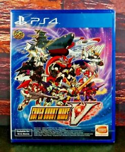 Super Robot Wars V (English Subs) for Sony PlayStation 4 PS4 Brand NEW Sealed