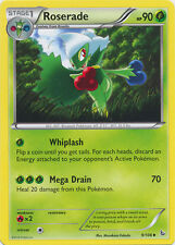 Roserade Uncommon Pokemon Card XY2 Flashfire 9/106