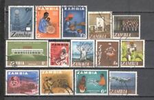 S6672 - ZAMBIA 1968 - LOTTO TEMATICI DIFFERENTI DEL PERIODO - VEDI FOTO