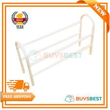 H & L Russel Ltd 2 tier White Metal Expanding Shoe Rack, Large MS5010
