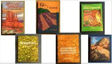 GEOLOGY BOOKS, Mineralogy, Paleontology, Geologic Time, Geologic Guides Lot 0f 6