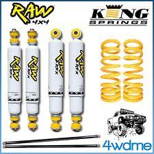"Toyota 4Runner Surf RAW YN130 VZN130 Shock Torsion Bar + KING Spring 2"" Lift Kit"