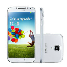Unlocked Samsung Galaxy S4 GT-I9500 Mobile Phone -16GB 13MP Camera - White Frost