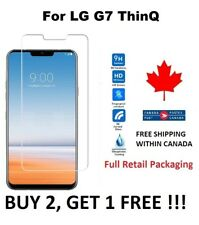 LG G7 ThinQ - Premium Screen Protector Cover Hard Tempered Glass Protective