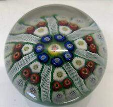 "RARE 3"" Vintage MURANO Glass Millefiori Paper Weight"