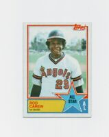 1983 Topps Rod Carew Baseball Card #386 - Minnesota Twins HOF