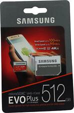 Samsung EVO Plus 512GB Micro SD MicroSDXC UHS-1 4K HD Class 10 Memory Card