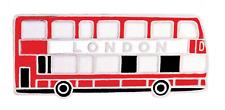 London Double Decker Bus Pin Badge