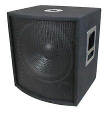 MCM CUSTOM AUDIO 555-10317 PA / DJ SPEAKER 12 INCH SUBWOOFER