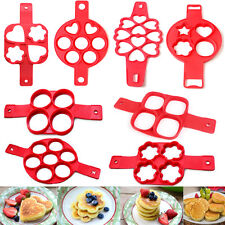 Non Stick Flippin Fantastic Nonstick Pancake Egg Ring Maker Kitchen Tools