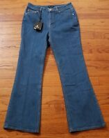 MASSIMO DUTTI Women's High Rise Blue Jeans Denim Stretch Size 4 NWT $50
