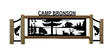 PERSONALIZED CABIN SIGN - DUCKS - FISHING - BEARS - OUTDOOR SIGNS - WILDLIFE ART