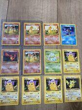 Base Set 1999 Unlimited Edition Rare Uncommon Pokemon Cards