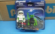 Playmobil 5241 space series explorer Blister pack NEW diorama Klicky Figure 146