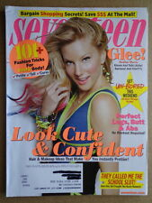 SEVENTEEN magazine Nov 2011 HEATHER MORRIS Glee-KELLY CLARKSON-Julianne Hough